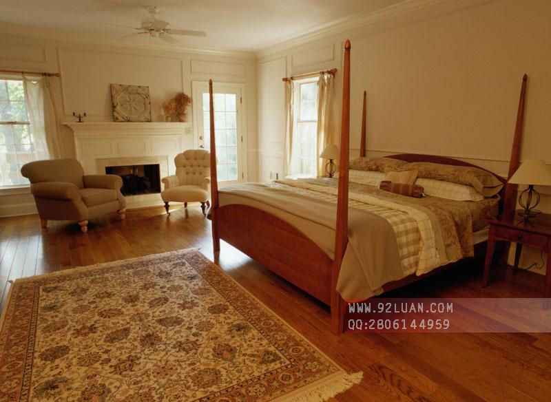 现代简约卧室装修设计风格效果图