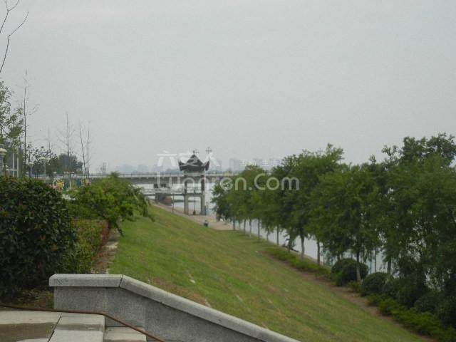 六安新安大桥附近风景