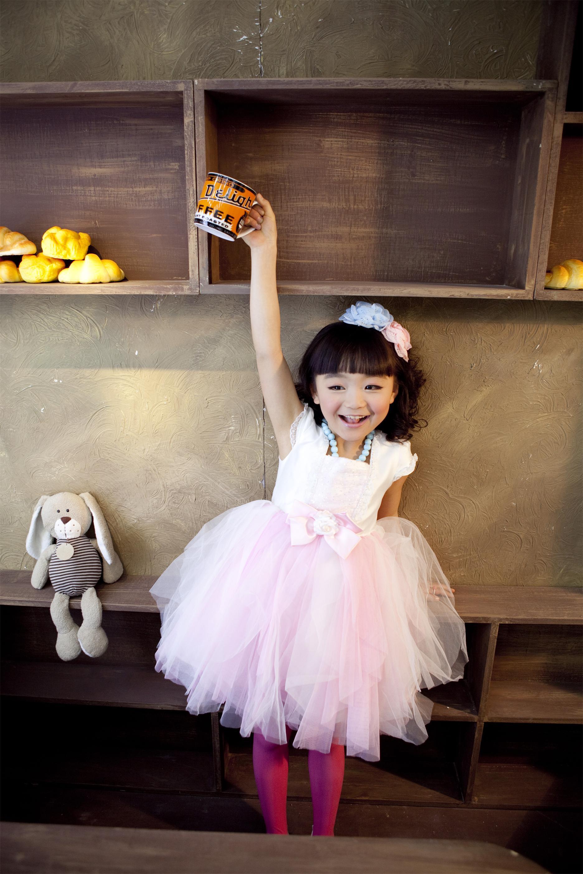 甜美可爱小公主