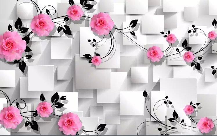 爱家无缝影视墙3D壁画