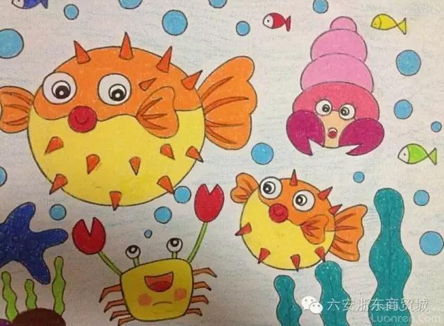 我心中的海洋 儿童绘画展活动开始啦,给宝贝一个展示自己的机会吧