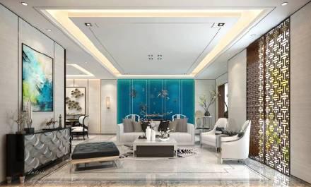 新中式家居装修设计图片