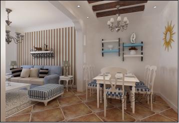 追求时尚与潮流,非常注重居室空间的布局与使用功能的完美结合