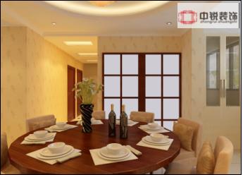家用电器为主要陈设,构件节点精致、细巧,室内艺术品比较复古