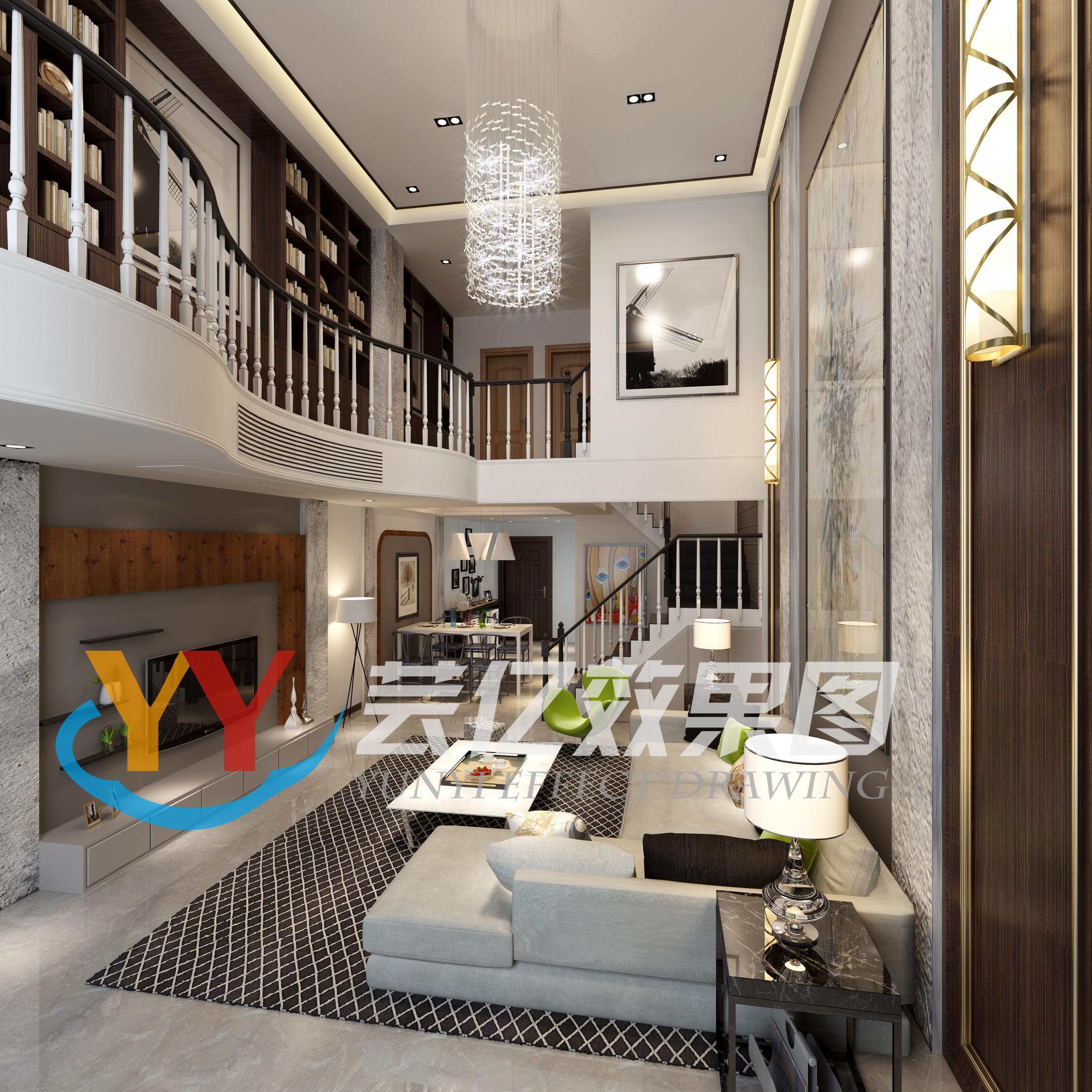 现代风格别墅